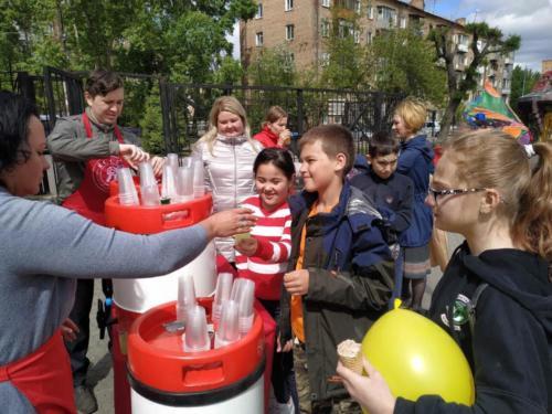 Детский праздник в парке им. Гагарина 31.05.2019